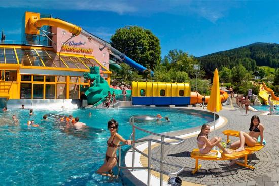 Haus Katja, Sommerurlaub im Salzburger Land, Wasserwelt Wagrain