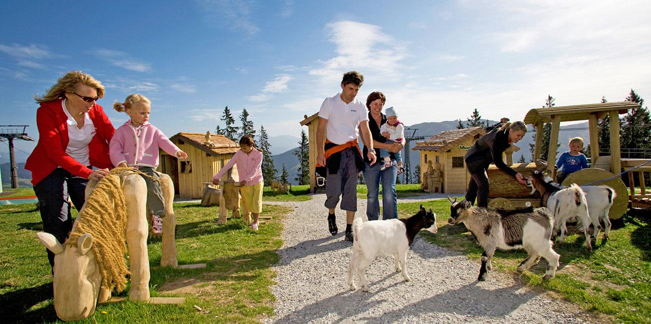 Urlaub in Wagrain - Ferienwohnungen Katja - Sommer