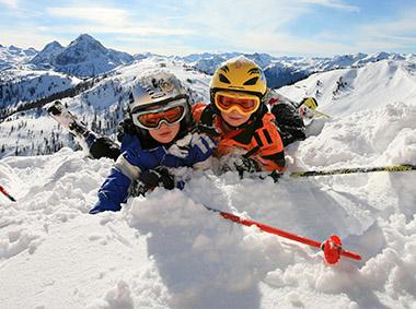 Winter Urlaub Ferienwohnungen Katja